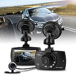 2.7 inch HD Dual Camera Dashcam with Night Vision with Rear View Camera - Brand New