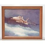 Framed Print F18 Hornet