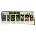 'The Golden Decade' Print Signed by Lynagh, Campese, Gregan, Larkham, Eales, Mortlock and Harrison