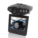 IR Car DVR with Night Vision 120 Degree Lens & 2.5 inch Drop down Screen - Brand New