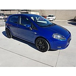 10/2006 Fiat Punto  5d Hatchback Blue 1.3L