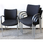Occasional/Visitor Chairs - Lot of Four
