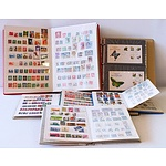 Collection of Stamp Albums and Stamp Reference Books - Lot of 10