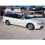 10/2002 Holden Berlina  VY 4d Wagon White 3.8L