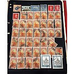 Collection of More than 200 Stamps from Different Countries Vol.3