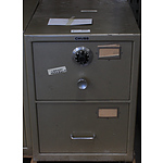 Chubb B Class Two Drawer Filing Cabinet