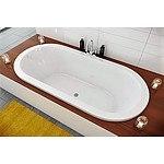 New Decina Caval 1800mm Oval Bathtub - RRP=$1,203.00