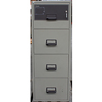 Chubb A Class Fire Proof Four Drawer Cabinet