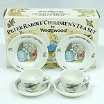 Boxed Wedgwood Peter Rabbit Children's Tea Set