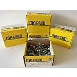 Macsim Spring Toggles - Round Head - Brand New