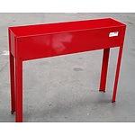 Red Planter Box - Demonstration Model
