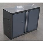 Wall Mount 2 Door Storage Unit - Demonstration Model