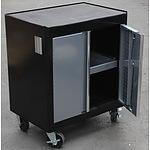 2 Door Roller Cabinet Work Station - Demonstration Model