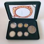 1996 Proof Australian Baby Coin Set with Gumnut Baby Medallion