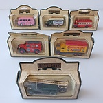 Collection of Twelve Days Gone Model Cars, Including Mobiloil, Heinz, Castrol, Auxiliary Fire Service and More