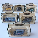 Collection of Twelve Days Gone Model Cars, Including Royal Mail GR, Pennzoil, Smiths, Lipton's Tea and More