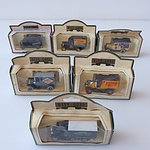 Collection of Twelve Days Gone Model Cars, Including Renault, Reid's Stout, Bushells Coffee. Imperial Airways and More