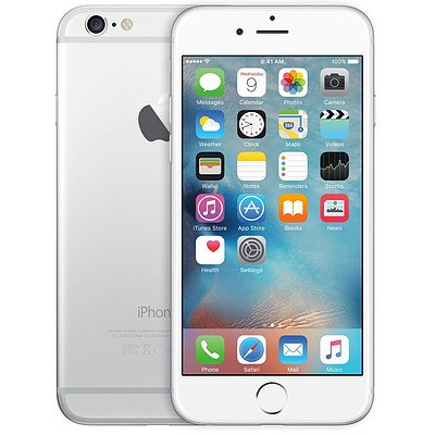 Ex lease iPhone 6 64GB Silver & White with 3 month warranty + ' image'