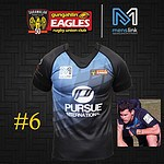 Gungahlin Eagles 2017 Charity Round Jersey #6