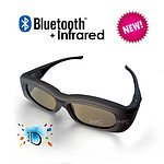 3D Active Glasses with Bluetooth & Infra-Red Technology - With Warranty