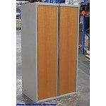 Grey Steel Storage Cabinet