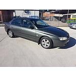 10/2002 Holden Commodore Executive VY 4d Sedan Grey 3.8L