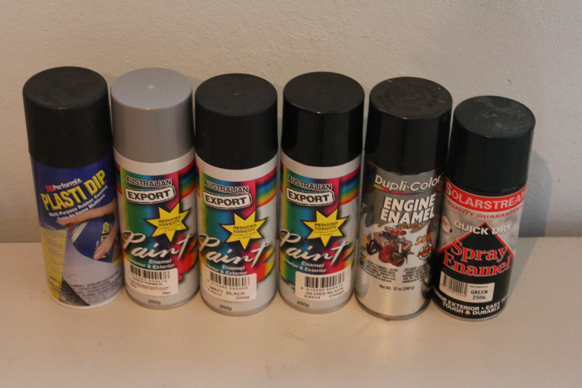 Assorted Aerosol Spray Paints - 23 Cans