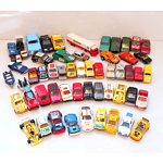 Large Collection of Toy Cars, Including Matchbox, Majorette, Tomica, Corgi, Solida and More