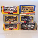 Collection of 13 Boxed Cars, Including BMW, Mercedes, Renault and More