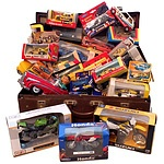 Large Collection of Toy Cars and Motorbikes
