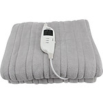 Grey Heated Throw Rug - RRP $189.00 - Brand New