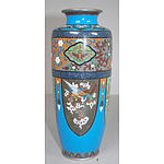 Fine Antique Japanese Cloisonne Vase Meiji Period 1868-1912