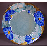 Hand painted Grays Pottery England Charger