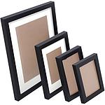 26 Pc Photo Frames Set Wall Black - Brand New