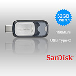 SanDisk 32GB Ultra USB 3.1 Type-C Flash Drive - 150MB/s SDCZ450-032G - With Warranty