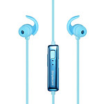 Simplecom BH310 Metal In-Ear Sports Bluetooth Stereo Headphones Blue - with Warranty