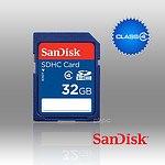 Sandisk SDHC SDB 32GB Class 4 - With Warranty