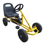Ride On Kids Toy Pedal Bike Go Kart Car - Yellow RRP $254.95 - Brand New