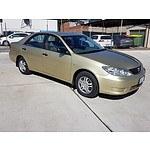 5/2005 Toyota Camry Altise ACV36R UPGRADE 4d Sedan Gold 2.4L
