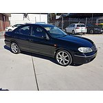9/2004 Nissan Pulsar ST N16 MY04 4d Sedan Black 1.8L
