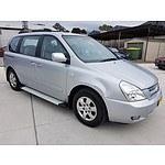 5/2008 Kia Carnival EX VQ 4d Wagon Silver 2.7L