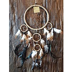 New Handmade Multi Ring Dreamcatcher 170mm