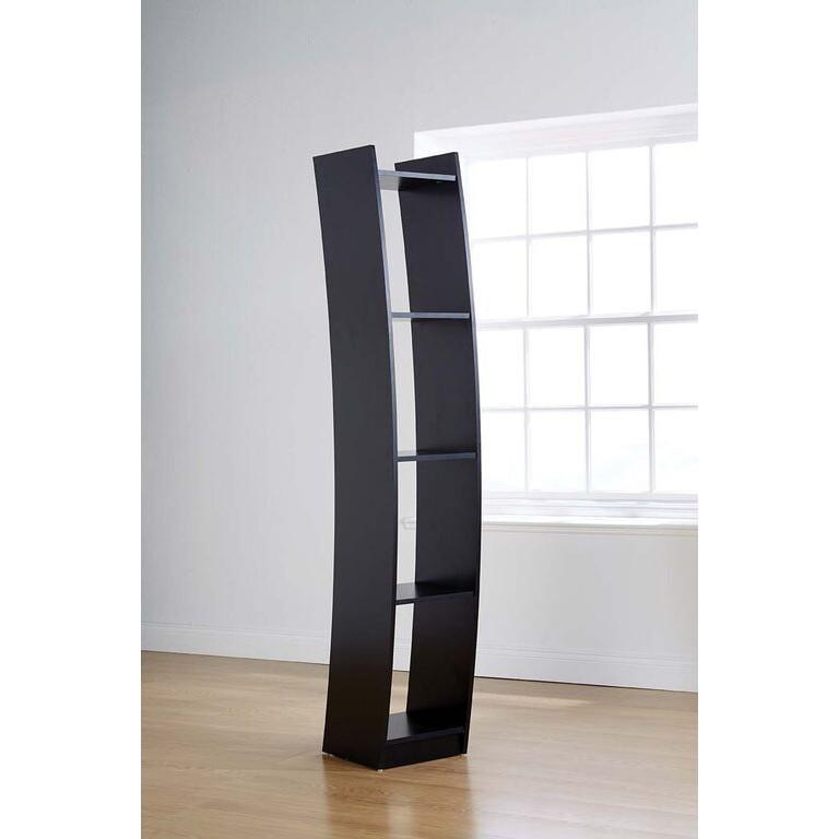 pretty nice 7e78c cb7ee Baroque Curved Bookcase in Black - Brand New
