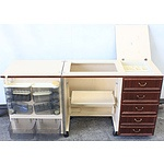 Horn Mobile Sewing Cabinet