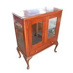 Australian Cedar Display Cabinet