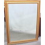 Gold Leaf Framed Wall Mirror