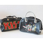 Pair of Vintage Bags, Kiss and Star Wars The Empire Strikes Back Circa 1980