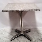 Lot of 5 Laminate Cafe Square Tables