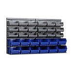 30 Bin Wall Mounted Storage Rack - Brand New
