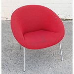 One Genuine Walter Knoll Design Model 369 Occasional Chair